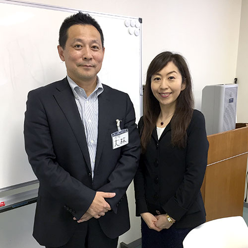 大林伸安 諏訪貴子 チームビルディング研修 ダイヤ精機株式会社
