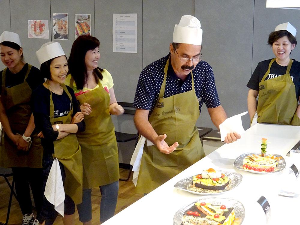 英語で!Cooking Team Building Program